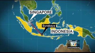 News video: Missing AirAsia plane